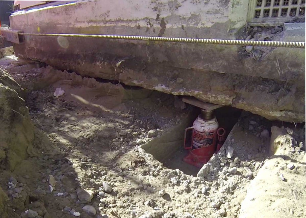 Concrete Foundation Repairs