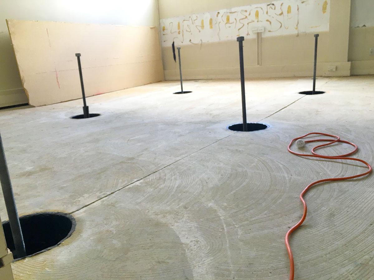 repair and level concrete slab foundation