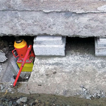 House Levelling & Concrete Slab Jacking to Repair Damaged Foundations