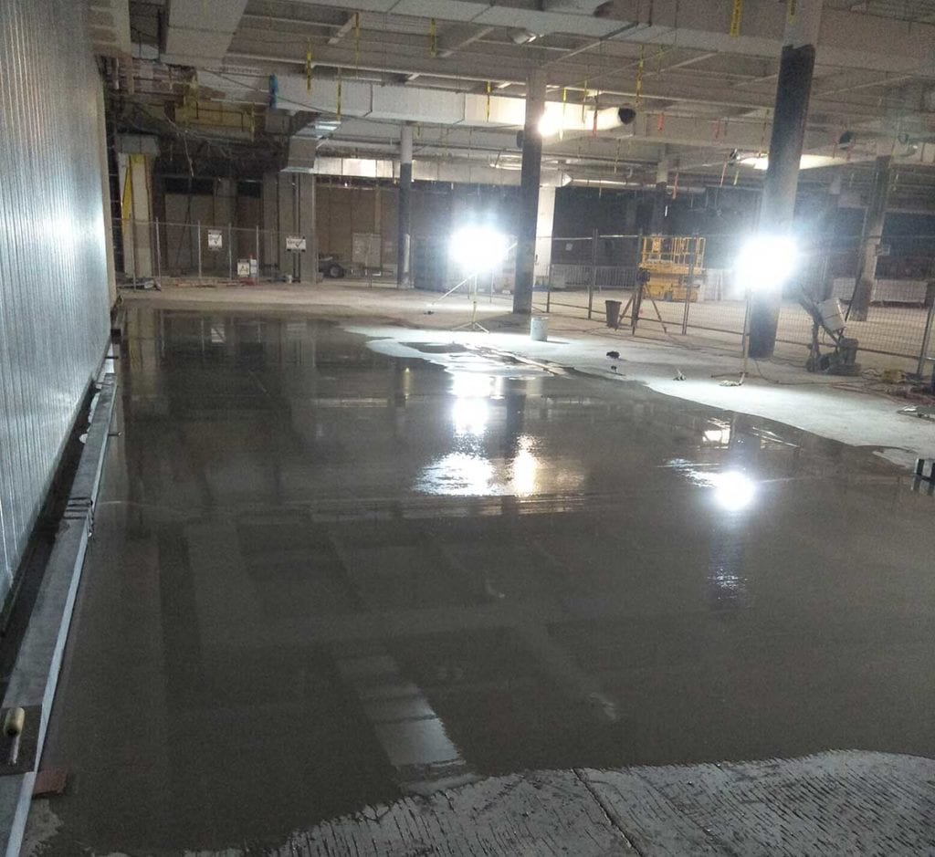 Smartlift large format screed system for foundation repair